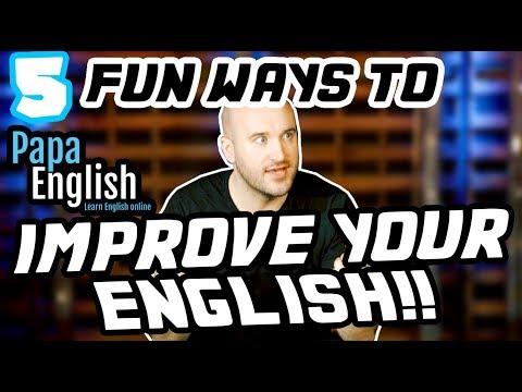 5 CÁCH THÚ VỊ để Học và Cải thiện Tiếng Anh của bạn!