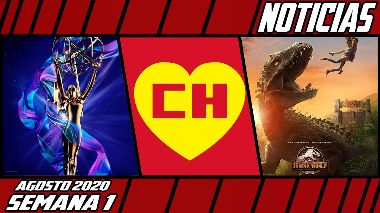 [C.H.A.O.S.] Los Nominados al Emmy, Chespirito Desaparece de la TV, La serie de Jurassic World y más