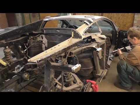 Lamborghini Gallardo  Full body rebuilding  Полное восстановление кузова  720p 1