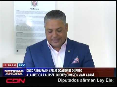 DNCD asegura en varias ocasiones dispuso a la justicia al El Buche; comisión viaja a Baní