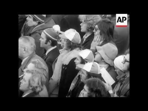 Rugby: England v Ireland - 1974