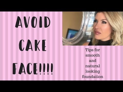 How To Apply Flawless Looking Foundation | Avoid The Cakey ...