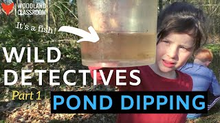 Wild Detectives: Pond Dipping with Kids