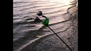 Рыбалка на спиннинг с берега Сумасшедший клев