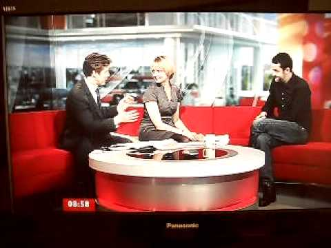 Ashes to Ashes Star Daniel Mays  BBC Breakfast  090410