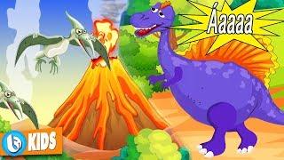 Phim Hoạt Hình Thế Giới Khủng Long Hay Nhất | Núi Lửa Phun Trào | Dinosaur Cartoon