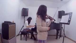 Repeat youtube video 【進撃の巨人 Attack on Titan】自由の翼 Jiyuu no Tsubasa【 ピアノとバイオリンで弾いてみた Piano & Violon】