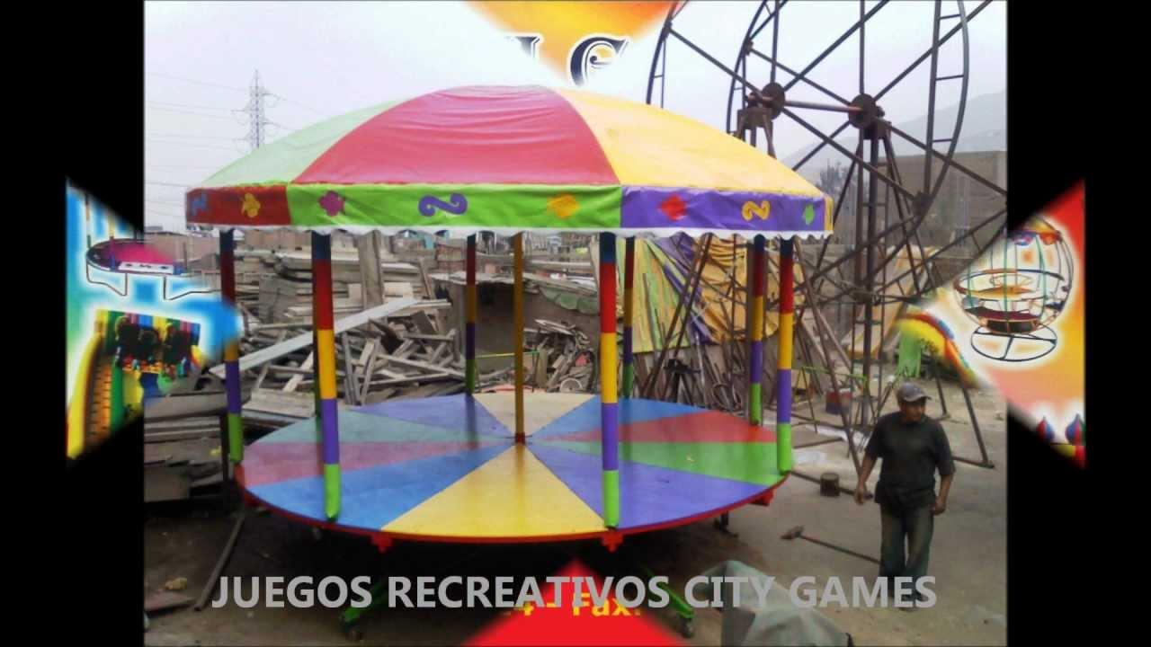 JUEGOS RECREATIVOS PARA NIOS CITY GAMES  YouTube