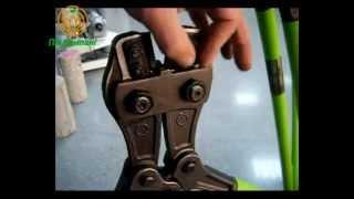 Ножницы для резки арматуры SIMA ТХ 16(Ручные ножницы для резки арматуры от 6 до 16 мм в диаметре. Ножи изготовлены из высококачественной стали,..., 2013-01-29T14:33:06.000Z)