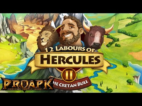 12 Labours of Hercules II: The Cretan Bull Gameplay IOS / Android / PC