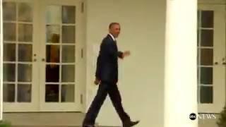 بالفيديو.. أوباما يغادر البيت الأبيض للمرة الأخيرة