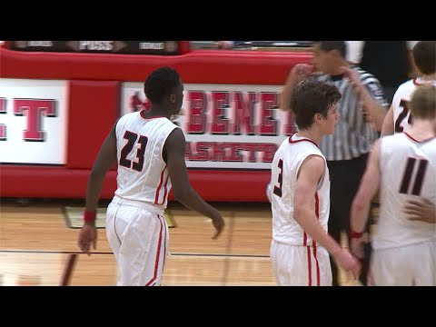 Marian Catholic vs. Benet Academy Boys Basketball, December 18, 2014