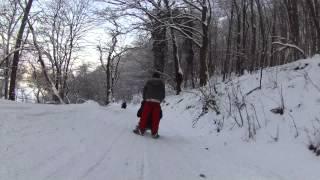 Зима(Замкова гора. м.Хуст 13.01.2013., 2013-01-13T21:04:41.000Z)