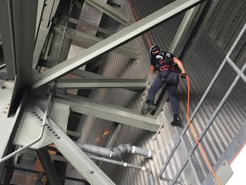 400 ft. Rappel with Bar Rack - Rope Tech