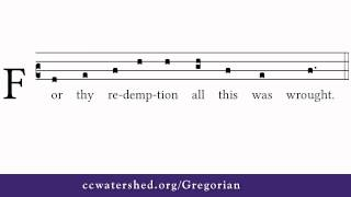 How to Read Gregorian Chant (4)