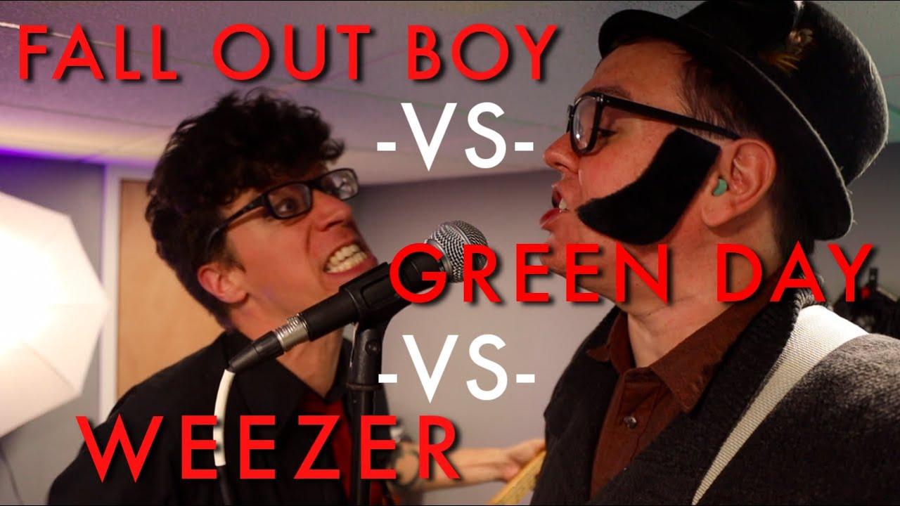 Hella Mega Mashup - Fall Out Boy vs Weezer vs Green Day