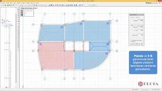 ProtaStructure ile Modelleme - Plak Döşemelerin Tanımlanması