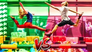 TURNSTER VS FREERUNNER IN MIJN TRAMPOLINEPARK (Debby) | #472