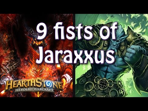 9 Fists of Jaraxxus with Deathwing... Why can't all the animations be this quick?