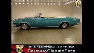 1963 Chrysler Pacesetter Convertible - #6121 - Gateway Classic Cars St. Louis