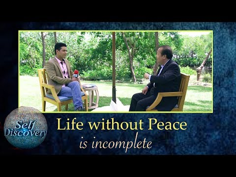 Life without peace is incomplete   Peace Speaker Prem Rawat Interview   Self Discovery