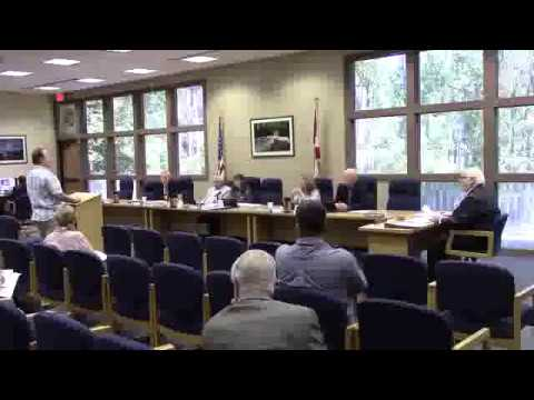 What has changed for this permit to be requested? --Mike Kern, Gilchrist County