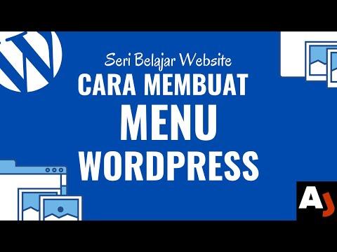 Cara Membuat Menu di WordPress | Seri Belajar Website