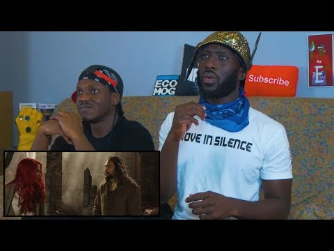 AQUAMAN – Extended Video Reaction
