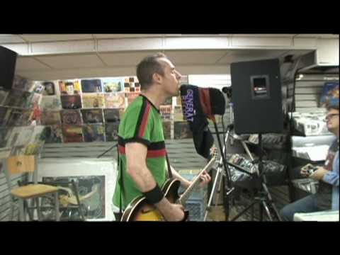 Ted Leo performs