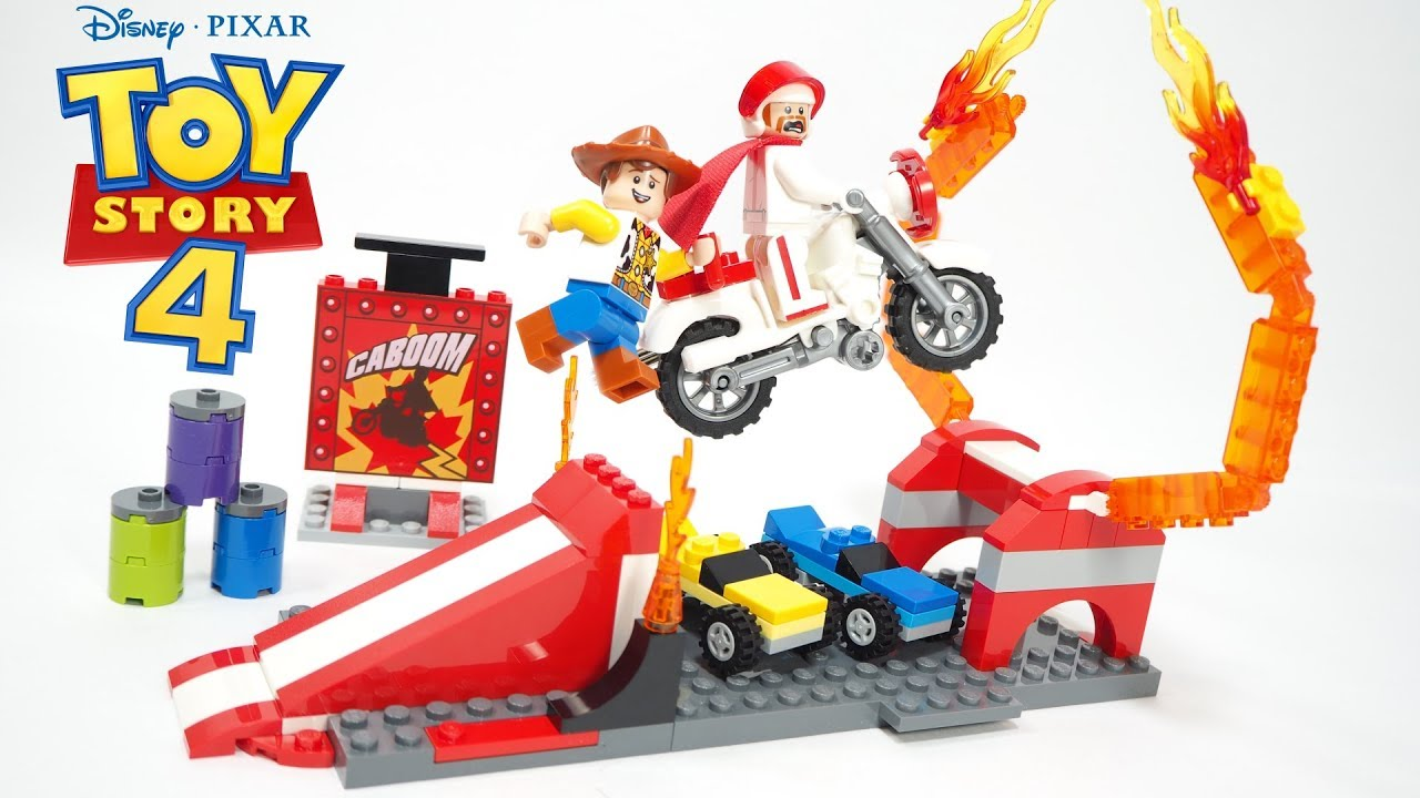 LEGO 10767 Disney Pixars Toy Story 4 Duke Caboom/'s Stunt Show Building Toy Set