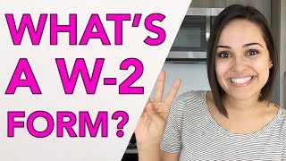 WHAT'S A W-2 FORM ANYWAY?!!
