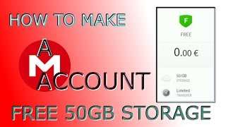 How to Make a MEGA Account FREE 50GB STORAGE Hindi/Urdu | Akmal Pardasi