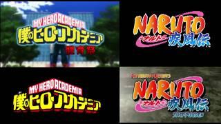MHA Naruto Shippuden Comparison [Parody]