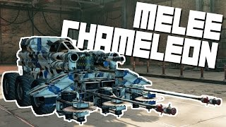 Crossout Gameplay - Melee Chameleon! - Let's Play Crossout