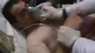 Chlorine gas attack reported in Syria