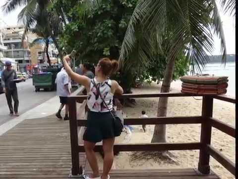 Pattaya Beach Road May 2016
