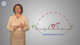Математика 6 Поворот и центральная симметрия