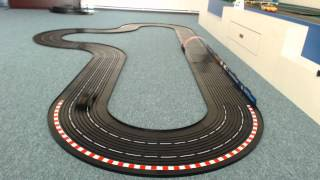 New Generation Slot Car Racing - Part 3- Test run (changing lanes on raceway)