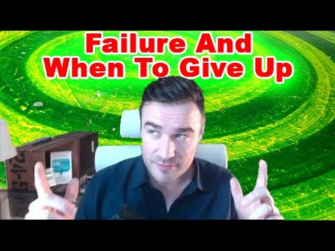 Failure and when to give up