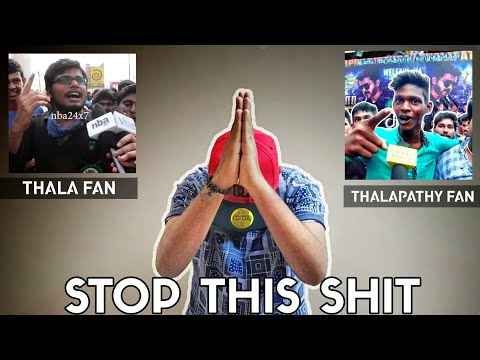 Thalapathy Fan Bad Talk About Thala Family...