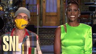Issa Rae And Justin Bieber Are Excited For SNL