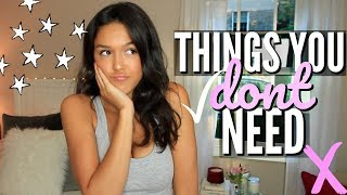 10 things you DONT need in college (you need to watch this)