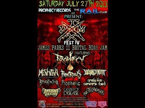 TXDM FEST IV!!!! 7-27-13!!!! The Rail Club - Fort Worth, TEXAS (PROMO VIDEO)