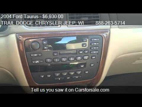 2004 Ford Taurus 4dr Sdn SEL - for sale in 2000 Stout St. Me