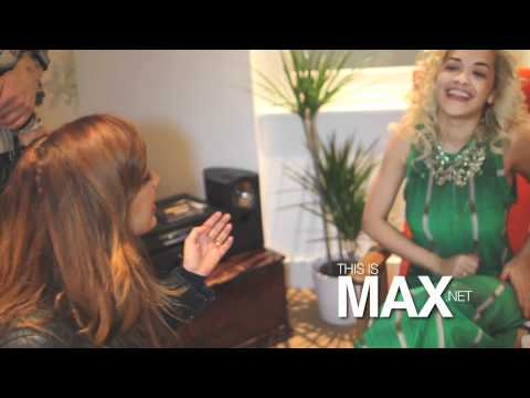 Rita Ora Interview With Max Debut show at YoYo's London!