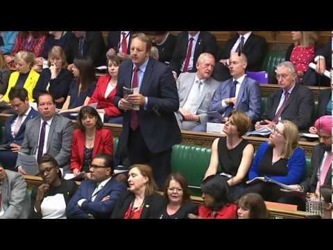 Toby Perkins in Cabinet Office Questions - 16/05/18