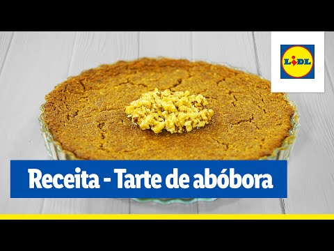 Receita veggie - Tarte de abóbora com nozes | Cooking Classes | Lidl Portugal