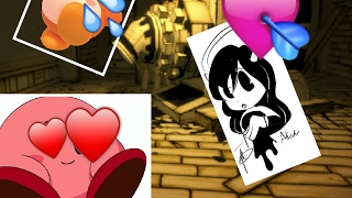 Kiby play bendy and the lnk machine in roblox full game play