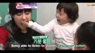 T-ara - Soyeon/Hyomin/Boram + Moon Brothers = Cuteness overload {eng}