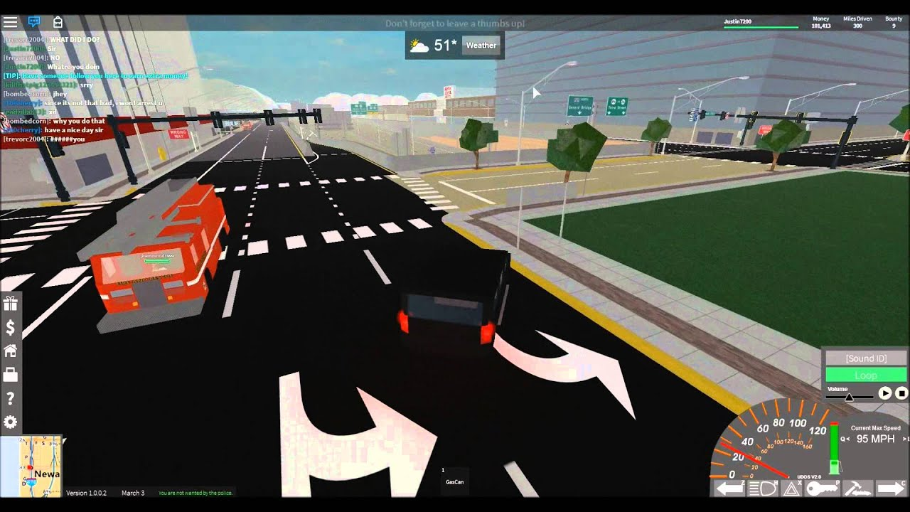 ROBLOX - First Look At Ultimate Driving Newark!